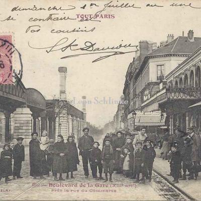 Tout Paris 512 - Boulevard de la Gare près rue...Nationale