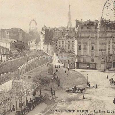 Tout Paris 542 ter - La Rue Lecourbe