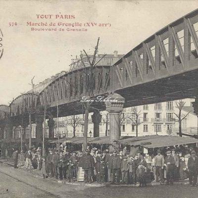 Tout Paris 574 - Marché de Grenelle au Boulevard
