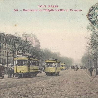 Tout Paris 603 - Boulevard de l'Hôpital