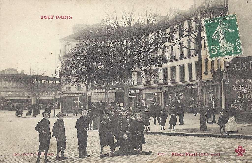 Tout Paris 671 - Place Pinel