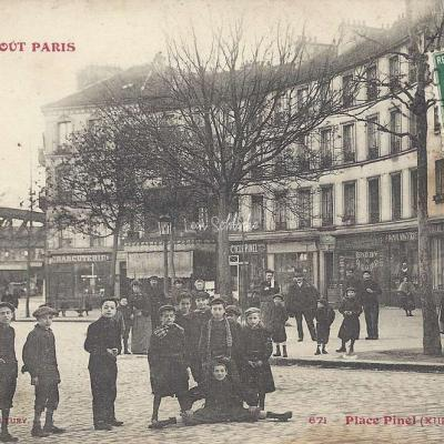 Tout Paris 671 - Place Pinel