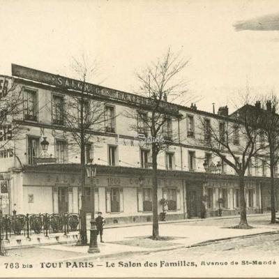 Tout Paris 763bis - Le Salon des Familles, Avenue de St-Mandé