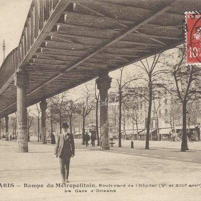 Saint-Marcel à Gare d'Austerlitz