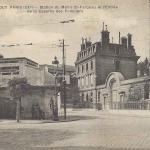 Tout Paris - Station du Métro St-Fargeau et Caserne des Pompiers