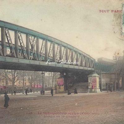TP 628 - Le Métropolitain aérien, Station La Chapelle