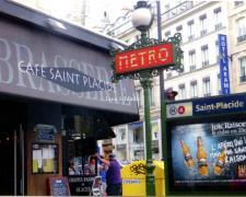 Une balade au fil du métro parisien