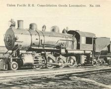 Union Pacific R.R. Consolidation Goods Locomotive N° 239