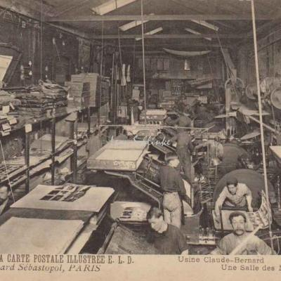 Usine Claude Bernard - Une Salle des Machines