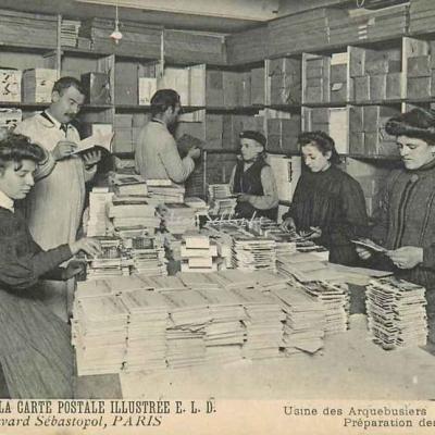 Usine des Arquebusiers - Préparation des Collections
