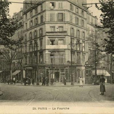 VC 29 - PARIS - La Fourche