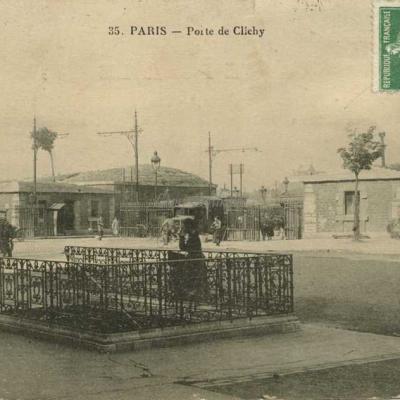 VC 35 - PARIS - Porte de Clichy
