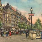 VC & Cie 372·1 - Paris - La Place et le Carrefour Drouot