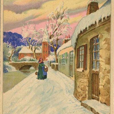 1375 - Villages enneigés