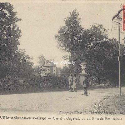 Villemoisson-sur-Orge - A.Thévenet 320 - Castel d'Orgeval