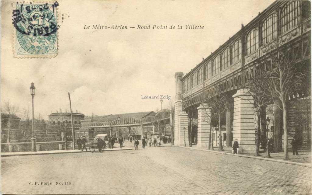 VP 150 - Le Métro Aérien - Rond Point de la Villette