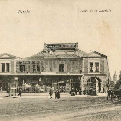 VP 19 - Paris - Gare de la Bastille