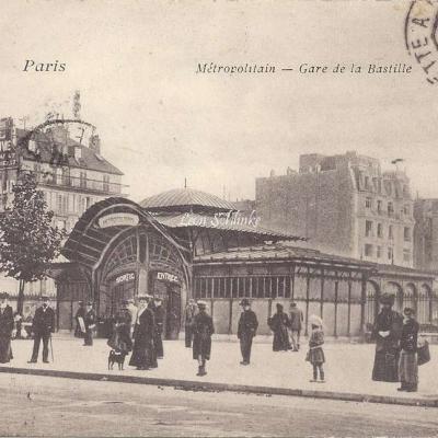 VP 215 - Metropolitain - Gare de la Bastille