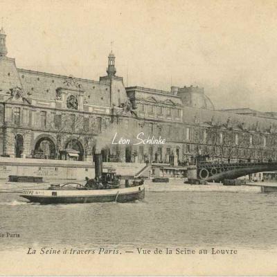 Vue de la Seine au Louvre