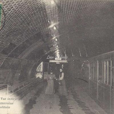 CM 453 - Vue intérieure d'une Gare Souterraine