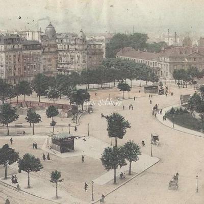 Gondry - Vue Panoramique de la Place de la Nation