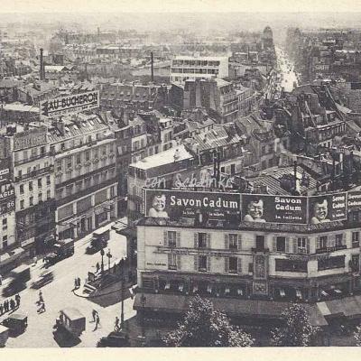 Willeb edit. - La Bastille, vue prise vers le Fbg St-Antoine