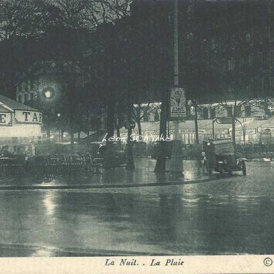Wyndham - Montparnasse - La Nuit.. La Pluie