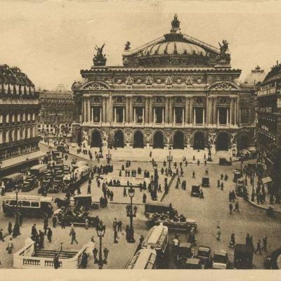 YVON 161 - PARIS... en flanant - Place de l'Opéra
