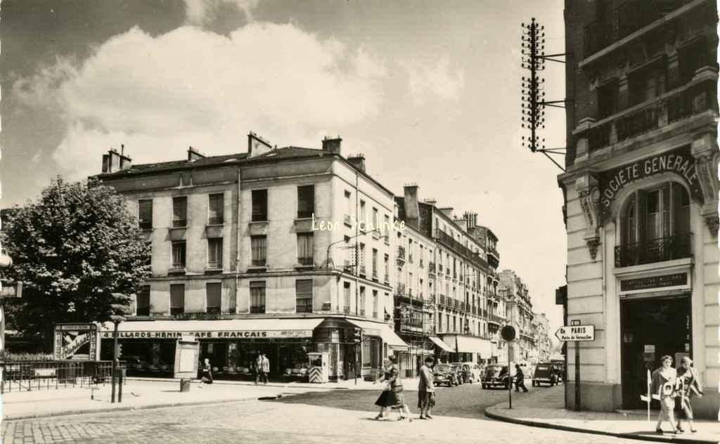 Yvon 20 - Issy-les-Moulineaux - Place Voltaire