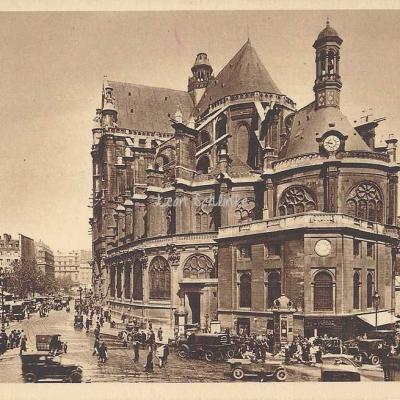 Yvon 203 - Eglise Saint-Eustache
