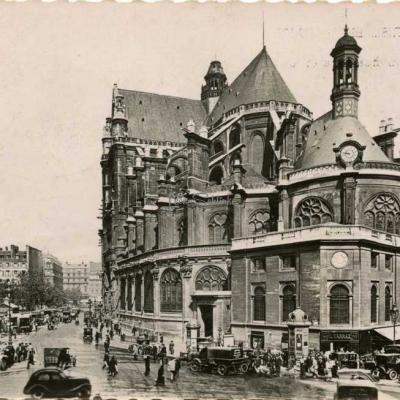 Yvon B. 9 - Eglise Saint-Eustache et les Halles