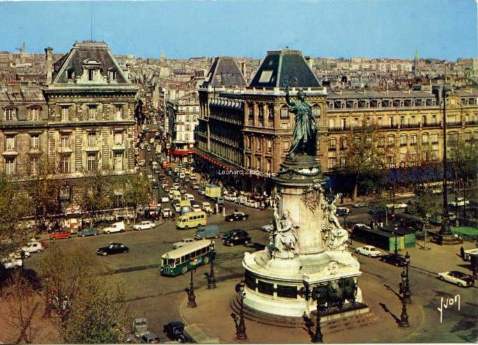 Yvon EKB 5746 - PARIS - Place de la République