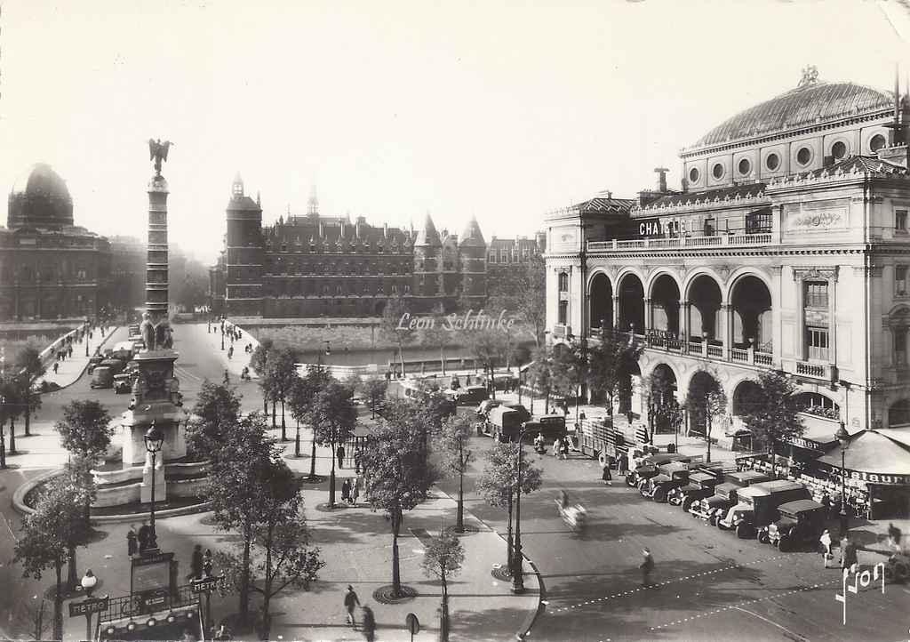 Yvon I.B.657 - Paris en flanant - Place du Châtelet