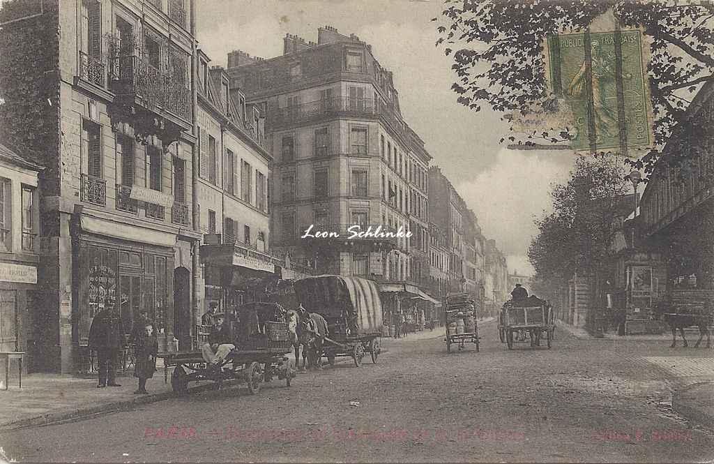 Zeidler F. - Boulevards de la Chapelle et de la Villette
