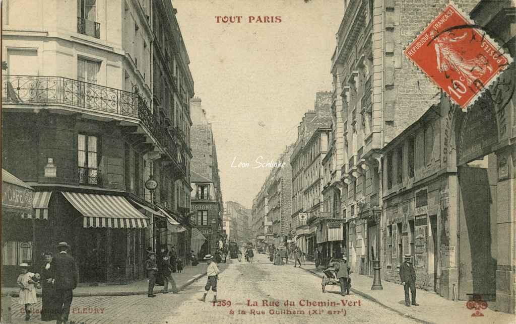 LE BON NUMERO - Page 17 1289-la-rue-du-chemin-vert-a-la-rue-guilhem