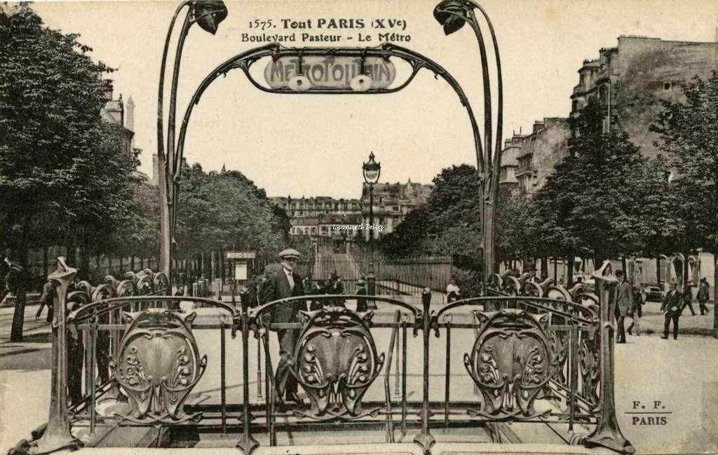 LE BON NUMERO - Page 28 Ff-1575-tout-paris-xv-boulevard-pasteur-le-metro